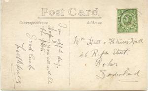 Noel Hall postcard